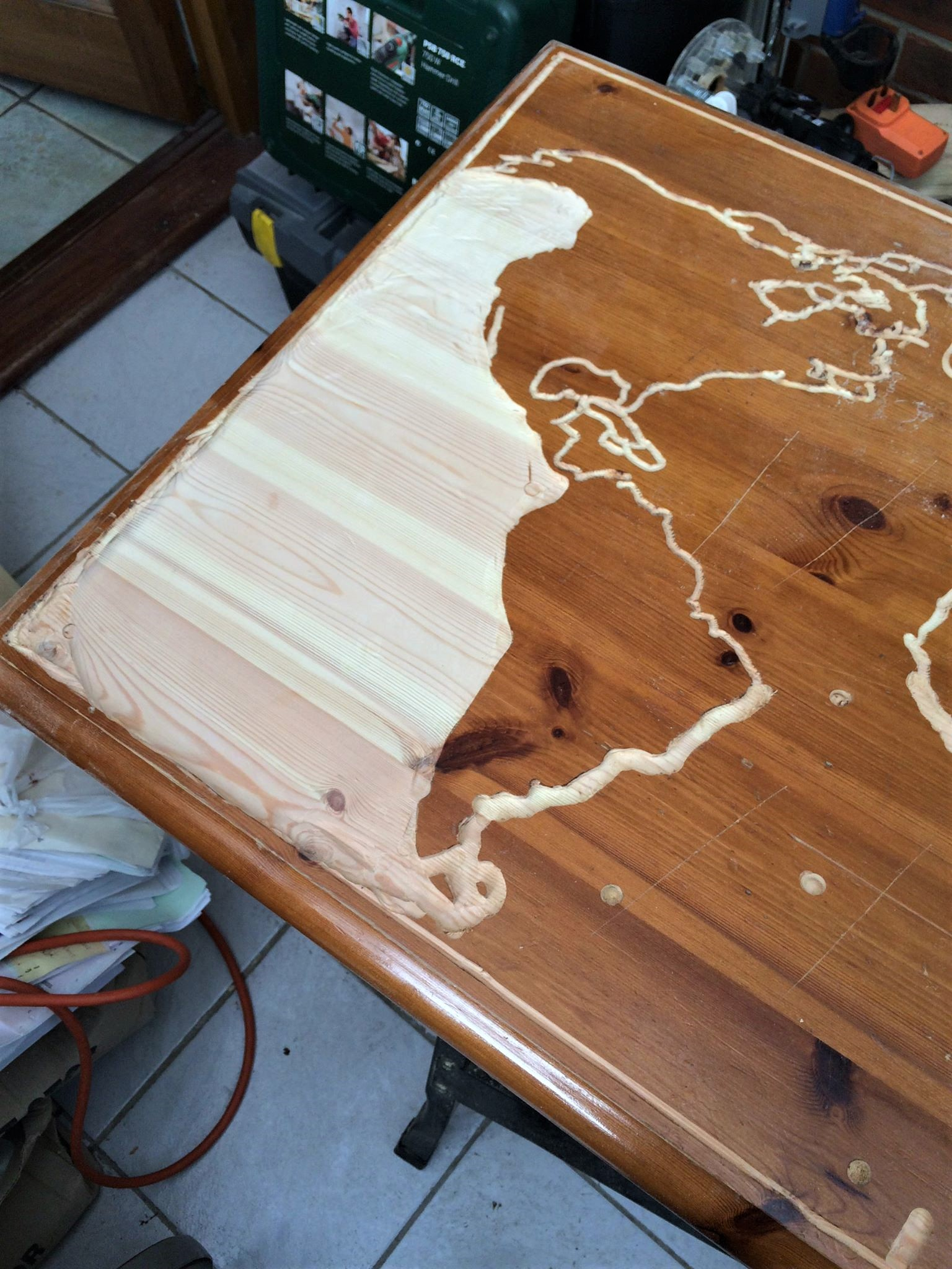 Светящийся стол из дерева своими руками фото 732